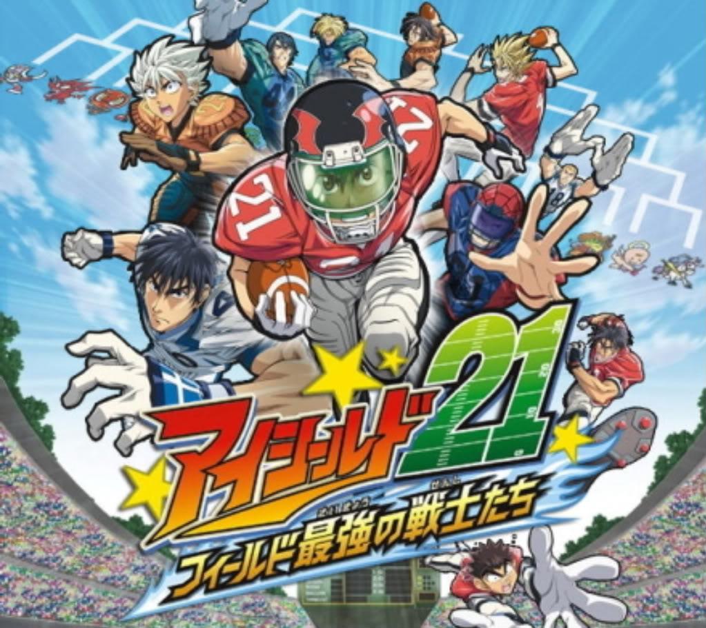 EyeShield 21 Soundtrack mangacomzone